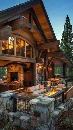 LOG CABIN- Visually, log homes tend to separate into two broad options. One is the historic style with dovetail corners and Chinking, that you see on our 55 Best Log Cabin Homes Modern page. Log Home Decorating, Decorating Ideas, Decor Ideas, Room Ideas, Log Cabin Homes, Log Cabin Kits, Cabin Plans, Mountain Homes, Mountain Home Plans