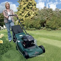 Mowing is so much easier with the Hayter Spirit 41 Autodrive Rear Roller Lawnmower, try it out for yourself, or have a look at other models we have at www.gardenlines.co.uk #gardenmachinery