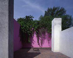 Casa Estudio de Luis Barragán, terraza. Foto: Casa Luis Barragán.