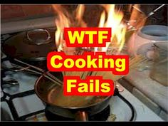 Compilation of people trying to cook and failing at it big time. Epic Fail Pictures, Funny Pictures, Cooking Brussel Sprouts, Cooking Fails, Cooking Light Recipes, Picture Fails, Picture Collection, Viral Videos, Big Time