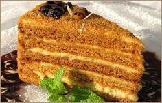 Торт из детства «Рыжик» - 20 Декабря 2015 - Рецептики