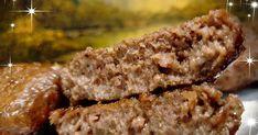 Μπιφτέκια πολύ αφράτα με καραμελωμένα κρεμμύδια!!Γίνονται πολύ ωραία και νόστιμα !!!🌺   Υλικά:   1 κιλό κιμά μοσχαρίσιο  3 κρεμμύδια  ... Food Decoration, Greek Recipes, Meatloaf, Banana Bread, Food And Drink, Cooking, Desserts, Kitchen, Tailgate Desserts