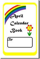 April Calendar Booklet