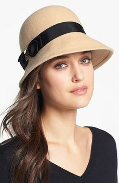 kate spade new york wool cloche available at #Nordstrom
