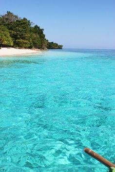 Gangga island, manado, indonesia