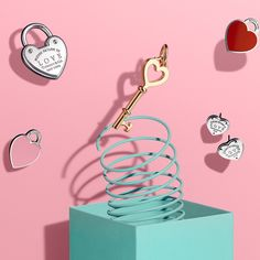 Have a heart-to-heart. Return to Tiffany® Love and Tiffany Keys designs in sterling silver and 18k gold.
