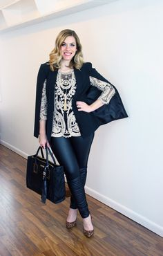 Mod Circus: Wear it Two Ways: Faux Leather Pants