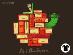 Bookworm - $10.00 + $5 standard shipping