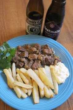 A hearty but complex beef stew cooked with Belgian beer. Get this, and many other beer related recipes on Honest Cooking today.