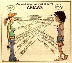 Comunicación no verbal entre mujeres