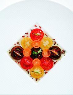 Nice tomatoes. Eric Briffard' book - Le Cinq by Glenat