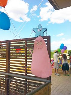 easy and awesome theme for a party - I want a barbapapa party!