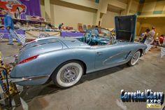#Corvettes at the Corvette Chevy Expo in Texas. #CorvetteChevyExpo Visit our websites: http://corvettechevyexpo.com/ and  https://vette-vues.com/