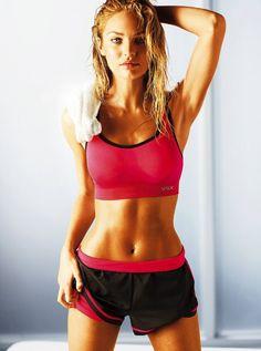 Candice Swanepoel new Victoria's Secret workout pics