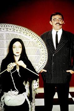 Gomez and Morticia Addams - The Addams Family