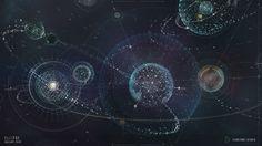 Ellipse Film UI graphics by David | Sci-Fi | 2D | CGSociety