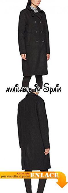 B072L9R7R4 : ICHI Sivaz JA Abrigo para Mujer Negro (Black 10001) 36.
