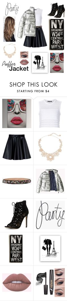 """""""Puffer Jacket - Look 2"""" by jasmin-ismodes ❤ liked on Polyvore featuring Thakoon, MSGM, Kate Spade, Alexander McQueen, ALDO and Home Decorators Collection"""