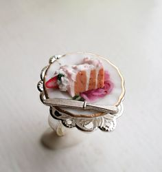 Miniature Food Jewelry are so cute!
