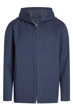 JIL SANDER Zipped Cotton Jacket. #jilsander #cloth #