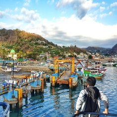 Location : Labuhan Bajo Harbour, West Manggarai, Flores, East Nusa Tenggara, Indonesia . #brothersjournal Times Square, Traveling, Explore, World, Instagram, Flowers, Viajes, The World, Trips
