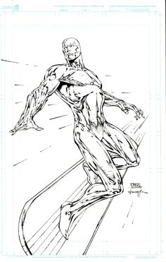 Silver Surfer by David Finch