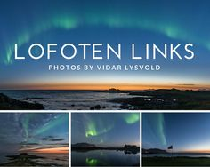Look at these stunning images from Lofoten Links. These photos were taken by Vidar Lysvolds Fotoside, a local photographer that specializes in photographing the Northern Lights.