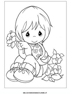 precious_moments_a34 Disegni da colorare gratis