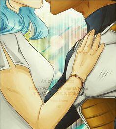 Bulma & Vegeta-- one of my first ships! Nalu, Dragon Ball Z Shirt, Cute Anime Couples, Beauty Art, Best Couple, Me Me Me Anime, Cute Wallpapers, Manga Anime, At Least