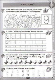 Albumarchívum Teaching Emotions, Paper Trail, Writing Numbers, Preschool Math, Sheet Music, Alphabet, Teacher, Album, Activities