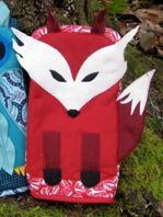 Free pattern: Fox pot holder · Sewing | CraftGossip.com