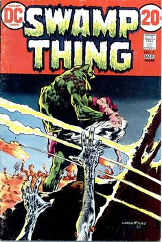 Swamp Thing #3 - Wrightson
