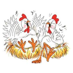 Art Impressions Rubber Stamp Chickens Chat - Google Search