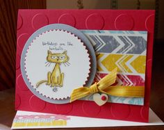 GIGGLE GREETINGS CARD: by happystamper09 - Cards and Paper Crafts at Splitcoaststampers