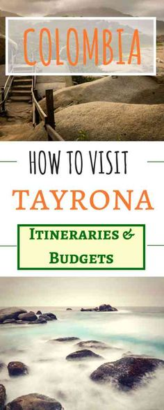 How to Visit Tayrona park Colombia. A fantastic national park on the Caribbean Coast of Colombia | Tayrona Itineraries | Tayrona Budget | Where to Sleep before Tayrona | How to get to Tayrona | Beaches in Tayrona | Where to sleep in Tayrona | What to bring to Tayrona | How long to stay in Tayrona #Tayrona #Nationalpark #Colombia