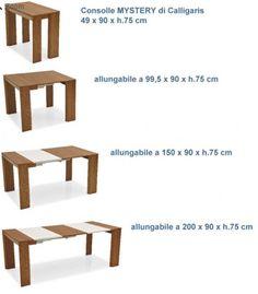 Proponiamo diverse consolle allungabili moderne e tavoli consolle ...