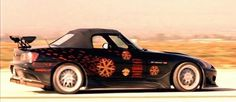 honda s2000 from the fast and the furious