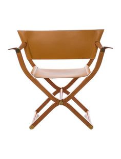 Hermès Leather Pippa Chair #TheSportingLife #Lookbook
