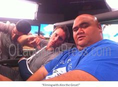 We cool! Taylor Wily and Alex O'Loughlin Hawaii Five-0!! #H50