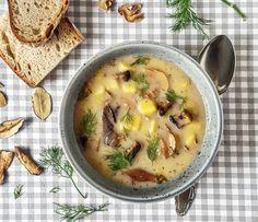 Archívy Polievky - Page 3 of 4 - Recepty Kulinárium Easy Vegan Soup, Vegan Potato Soup, Loaded Potato Soup, Potato Recipes, Soup Recipes, Vegetarian Recipes, Vegan Yogurt, Stewed Potatoes, Dairy Free Recipes