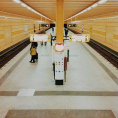 Exploring Berlin | U-Bahnhof Weberwiese