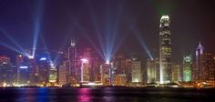 """The """"Symphony of Lights"""", in Hong Kong, is the world's """"Largest Permanent Light and Sound Show"""