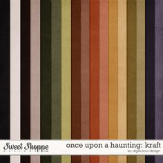 Once Upon A Haunting Kraft by Digilicious Design