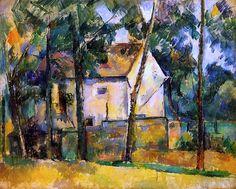 Paul Cézanne, House and Trees   on ArtStack #paul-cezanne #art