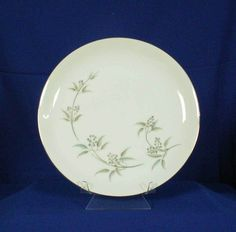 Grace China Japan Alyson Pattern 566 White Dinner Plate bfe1697 #GraceChina