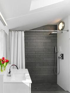 Grey/White  Bathroom excellent mix..