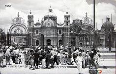 La Villa de Guadalupe Hacia 1945 - Fotos de Ciudad de México, Distrito Federal, México