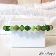 green striped beads bracelet handmade memory wire jewelry Memory Wire Jewelry, Wooden Jewelry, Diy Bracelet Storage, Handmade Bracelets, Beaded Bracelets, Writing Romance, Jewelry Rack, Chalkboard Art, Program Design