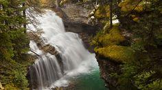 Johnston Creek, Johnston Canyon, Bow Valley Parkway, Banff National Park, Alberta