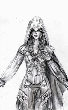 Assassin's Creed females | assassin's creed-woman by Maloceane